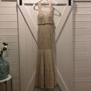Gorgeous lace prom dress -NWT